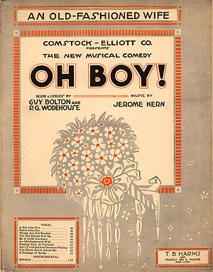 Jerome Kern - Sheet music from ''Oh Boy!''