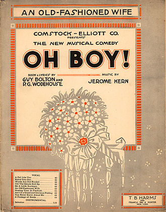 Jerome Kern - Sheet music from Oh Boy!