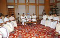 An all-party delegation from Kerala led by the Chief Minister, Shri Achuthanandan calling on the Prime Minister, Dr. Manmohan Singh, in New Delhi on April 15, 2008.jpg