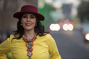 Ana Díaz - Image: Ana Diaz Mexico