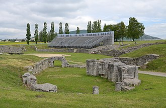 Carnuntum - Remains of the fortress - amphitheatre
