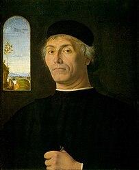 Андреа Соларіо: Portrait of a Man