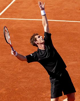 Andy Murray at the 2009 French Open 5.jpg