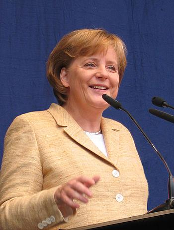 English: Angela Merkel