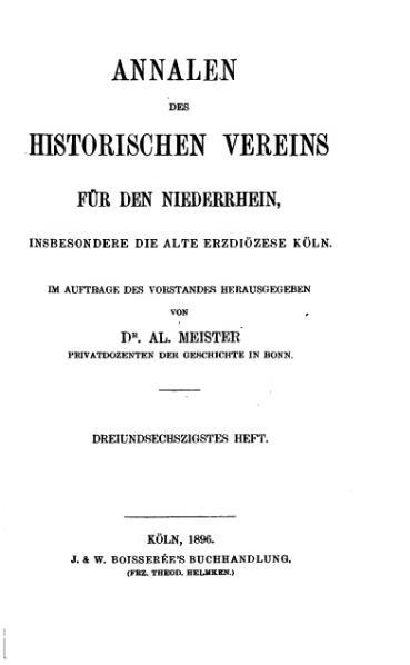 File:Annalen des Historischen Vereins für den Niederrhein 63 (1896).djvu