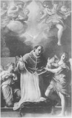 San Gregorio in preghiera