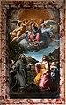 Annibale carracci, madonna col bambino tra i ss. francesco, antonio e dorotea (madonna della manna d'oro), 1599, 01.jpg