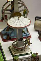 Antique tin toy German carousel (25292831051).jpg
