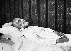 Antoine Bourdelle (1861–1929) on his death-bed.