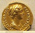 Antonino pio, aureo per faustina minore, 147-161 ca., 01.JPG