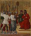 Antonio della Corna - Christ Before Caiaphas - Walters 37481.jpg