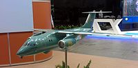 Antonov An-148MP scale model.jpg