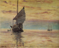AokiShigeru-1910-Sea at Sunset.png