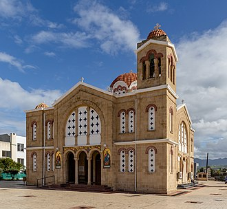 Polis, Cyprus - Image: Apostle Andreas Orthodox Church, Polis, Cyprus 02