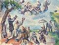 Apothéose de Delacroix, par Paul Cézanne.jpg