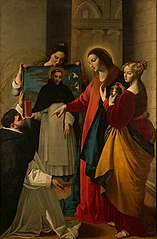 Appearance of the Virgin to a Monk of Dominican Order in Soriano