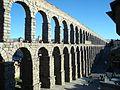 Aqueduct of Segovia - Acueducto romana de Segovia.JPG