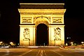 Arc de Triomphe at Night - Paris, FR.jpg