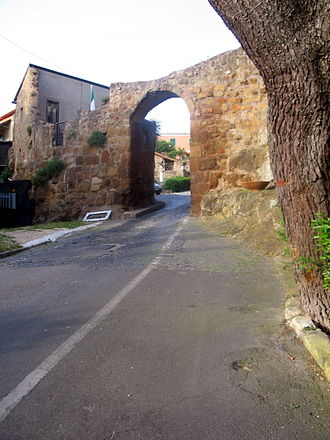 Ardea, Lazio - City gate.