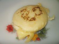 Arepa asada con queso
