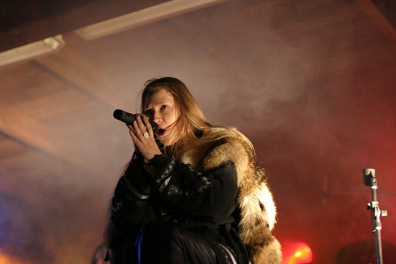 Masha Scream of Arkona at Black Troll 2010