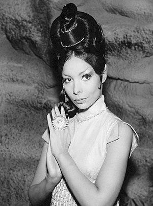 """Arlene Martel - Arlene Martel as T'Pring from the Star Trek episode """"Amok Time"""" (1967)"""