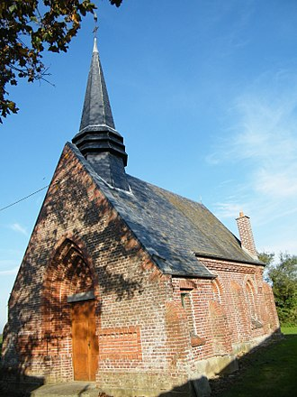Armancourt, Somme - The church in Armancourt