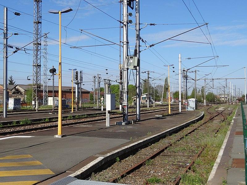 Gare d'Armentières, Nord, Nord-Pas-de-Calais, France.