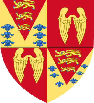 Edward St Maur, 11th Duke of Somerset - Image: Arms Of Edward Seymour 1st Duke Of Somerset Died 1552