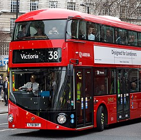 Arriva London bus LT2 (LT61 BHT) 2011 New Bus for London, Victoria bus station, route 38, 27 February 2012 (1).jpg