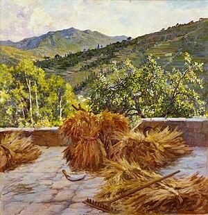 Antonio Discovolo - Grano, 1931 (Fondazione Cariplo)