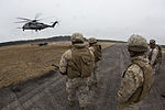 Artillery in the air, Landing support specialists test lift capabilities 140319-M-AR522-012.jpg