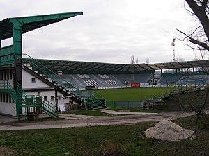 FC Petržalka akadémia - Previous Petržalka stadium