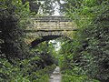 Ashdale Lane footbridge over the Harland Way between Wetherby, West Yorkshire and Spofforth, North Yorkshire (28th July 2018) 001.jpg
