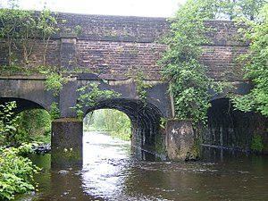 Listed buildings in Ashton-under-Lyne - Image: Ashton Canal Portland 3711