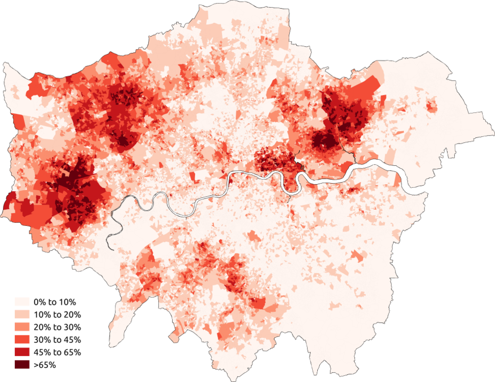Asian Greater London 2011 census