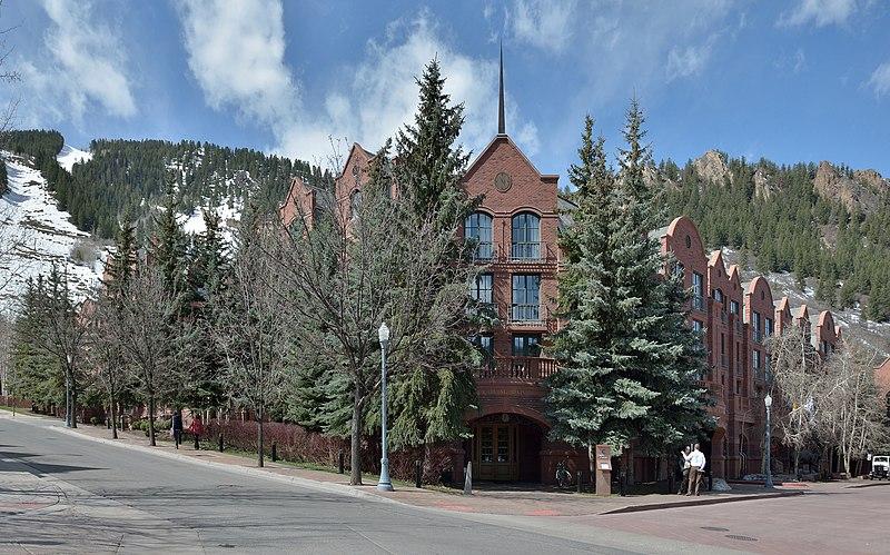 The St. Regis Aspen is a dog friendly hotel