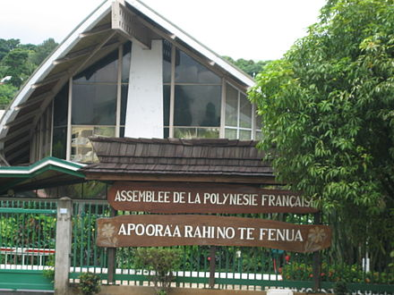 The Assembly of French Polynesia Assemblee de Polynesie.JPG