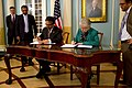 Assistant Secretary Jones and Pakistani Foreign Secretary Jilani Sign a Science and Technology Agreement Extension (10444016416).jpg