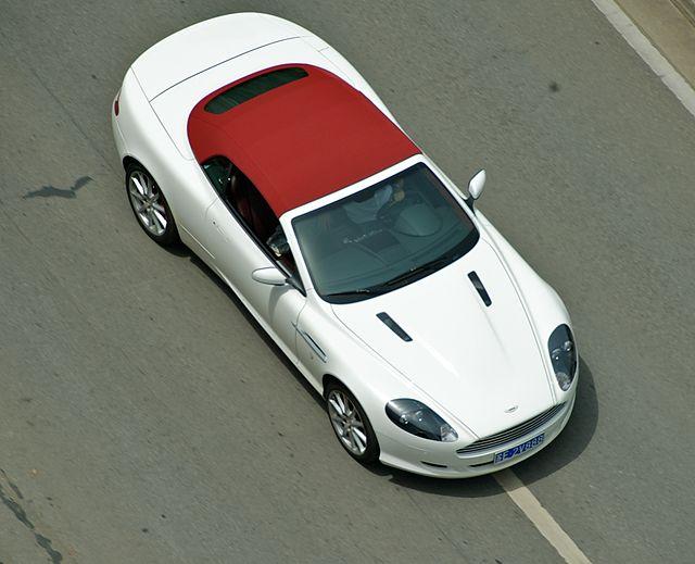 Image of Aston Martin DB9 Convertible (5766687564)