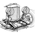 Aston Martin oil tank for dry sump lubrication (Autocar Handbook, 13th ed, 1935).jpg