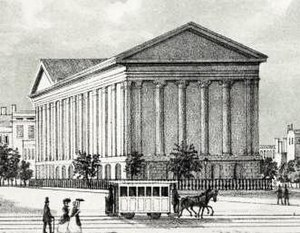 Astor Opera House - The Astor Opera House in 1850