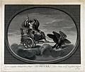 Astronomy; Jupiter in his chariot, drawn by a pair of eagles Wellcome V0024876.jpg