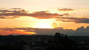 Popayán - Popayán evening