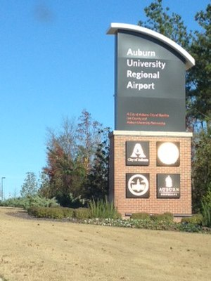 Auburn University Regional Airport - The airport was upgraded in 2010