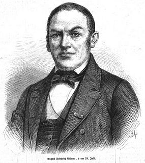 August Friedrich Christian Vilmar German theologian