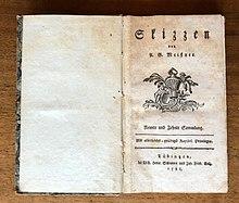 Skizzen 1788 (Quelle: Wikimedia)