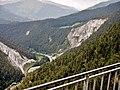 Ausblick von der Aussichtsplattform Conn oder Il Spir auf den Schweizer Oberrhein - panoramio (1).jpg