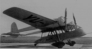 Jat Airways - Aeroput MMS-3 made in Aeroput workshops in Zemun, 1935