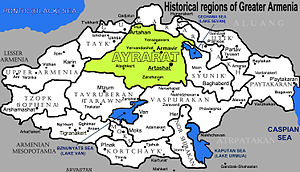 Kingdom of Armenia (antiquity) - Historical provinces of Greater Armenia